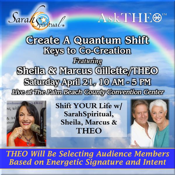 CReate A Quantum Shift w Sarah, Sheila, Marcus and THEO