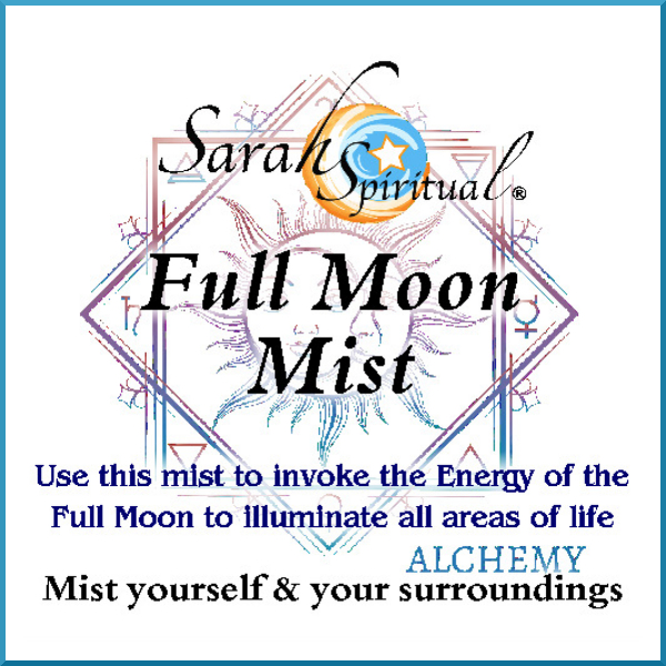 SarahSpiritual Full Moon Mist