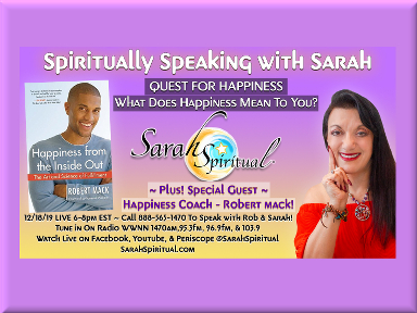 Spiritually Speaking w Sarah w Guest Robert Mack