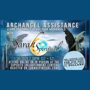 SarahSpiritual Class - Archangel Assistance