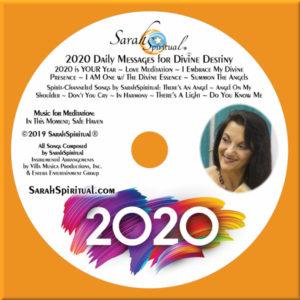SarahSpiritual's 2020 Daily Messages for Divine Destiny